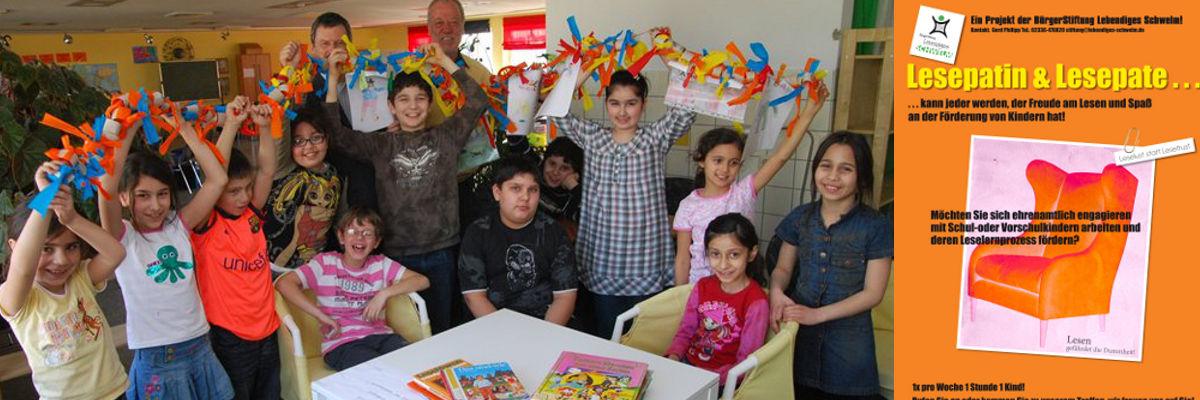 Leselustgruppe, Kinder freuen sich