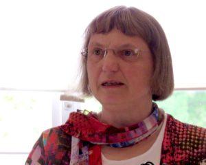 Frau Wilberg bei der Eröffnung